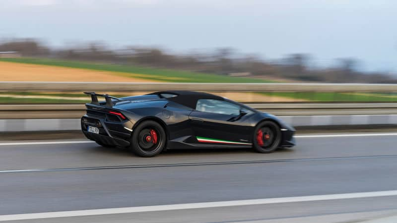 The Autobahn is known as a haven for fast cars.