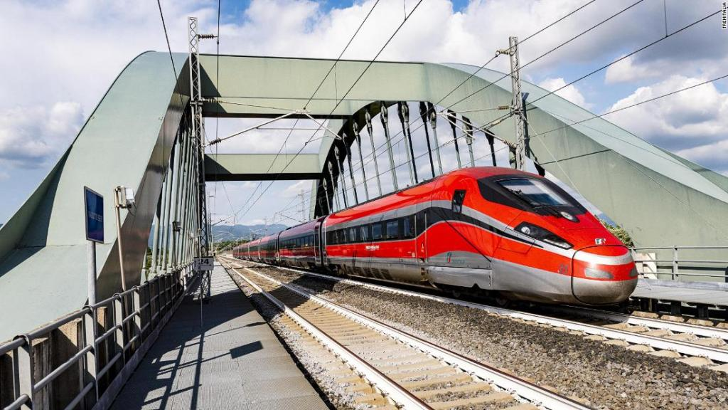 Italy unveils 'covid-free trains' to tourist destinations