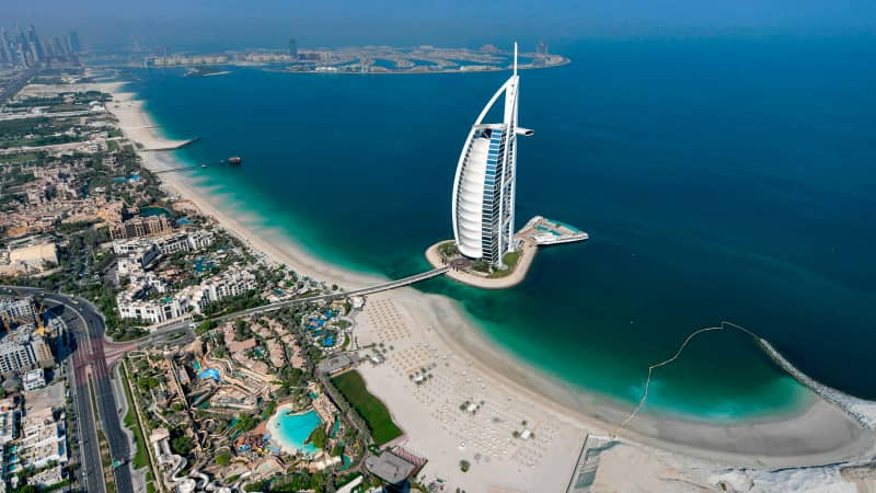 Dubai had a spike in cases in January 2021, but numbers are now dropping.