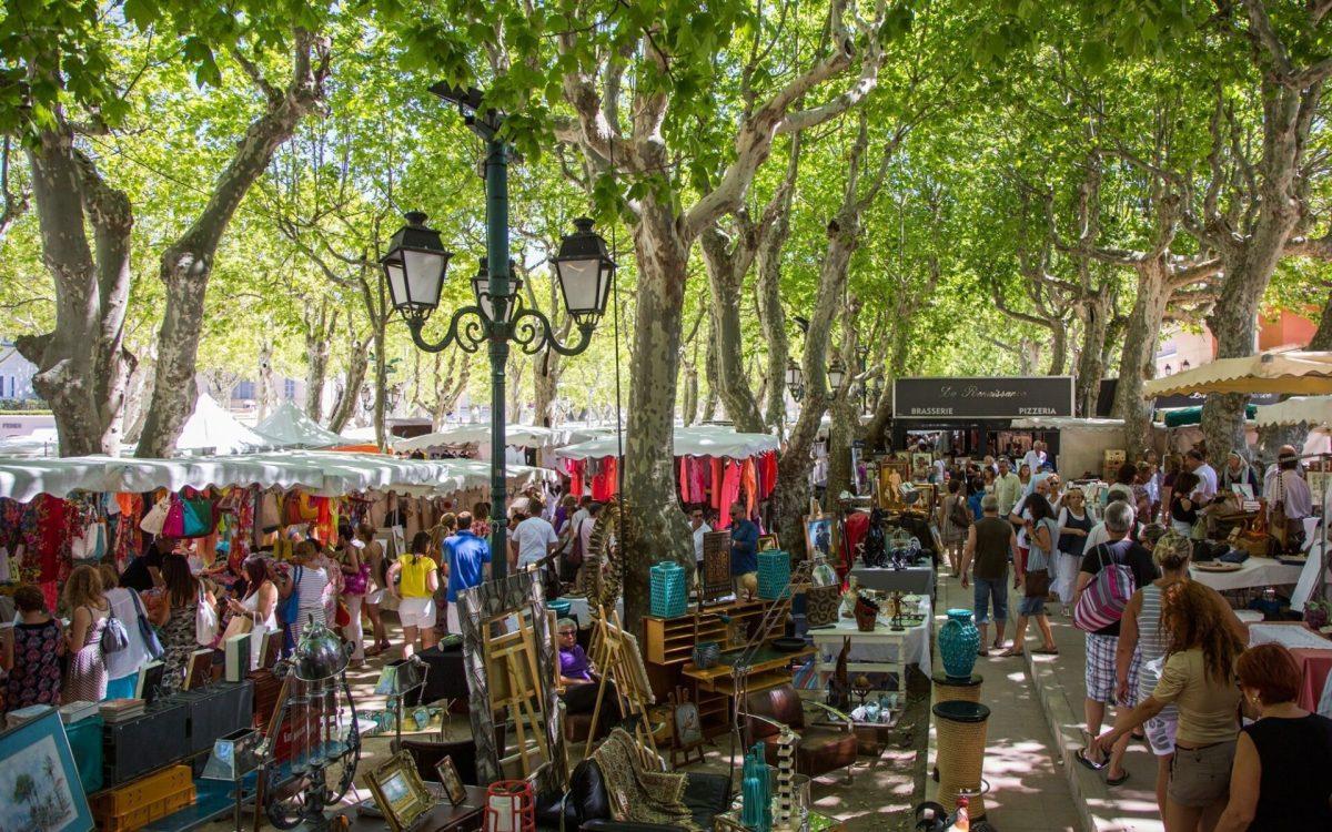 Place des Lices, St Tropez, France