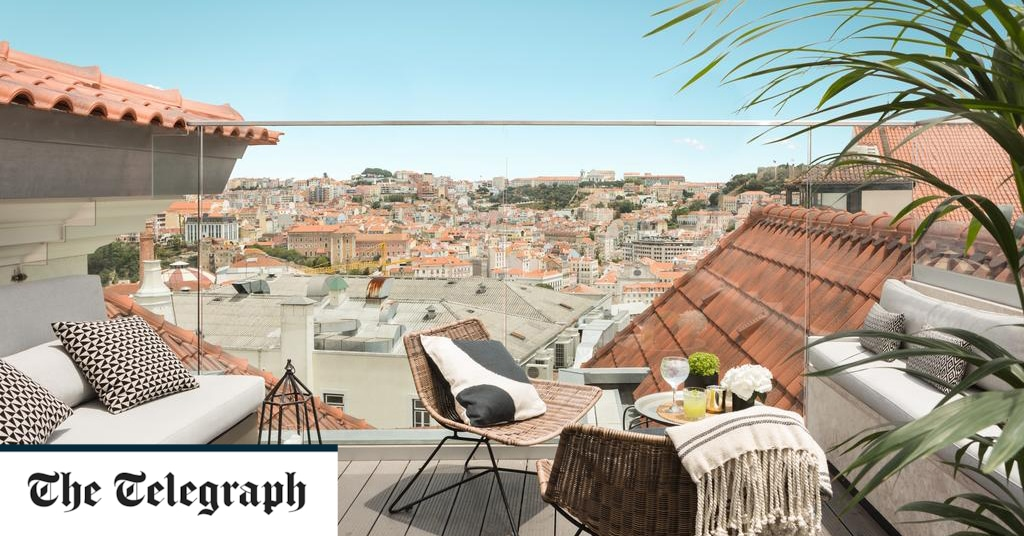 The best hotels in Lisbon city-centre, including hip rooftop bars and urban art tours from the door