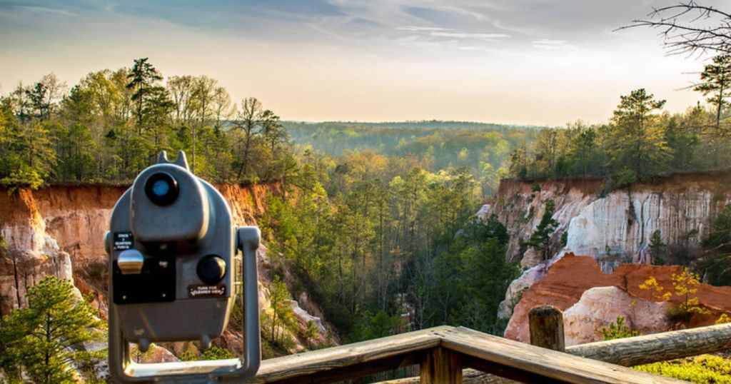 Why you have to see Georgia's 'Little Grand Canyon'
