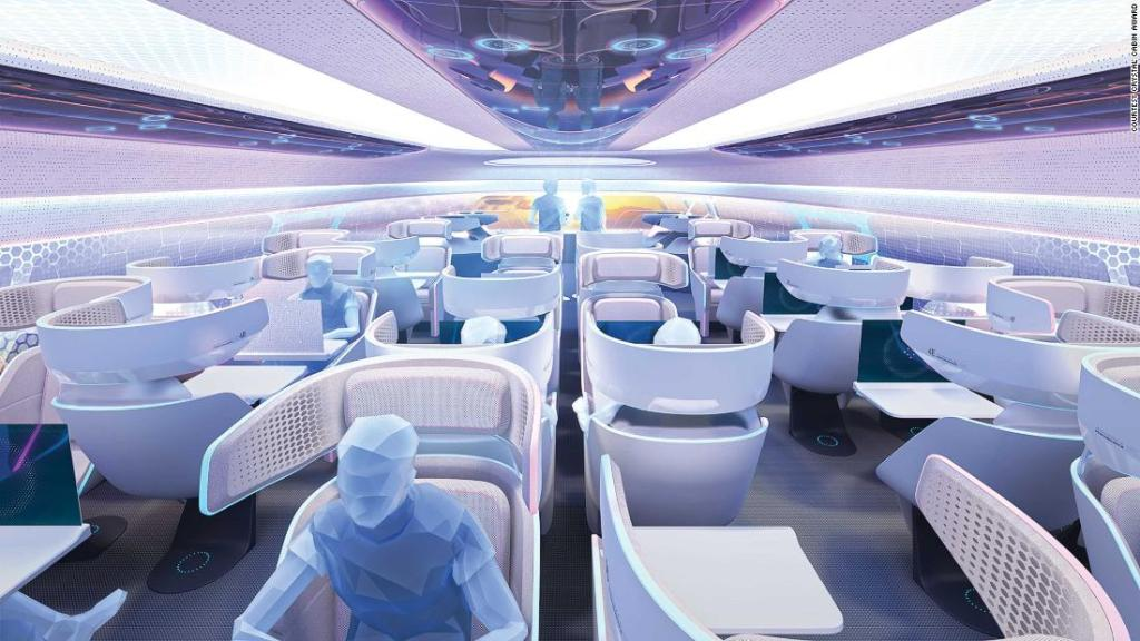 Airplane cabin concepts that could change flying