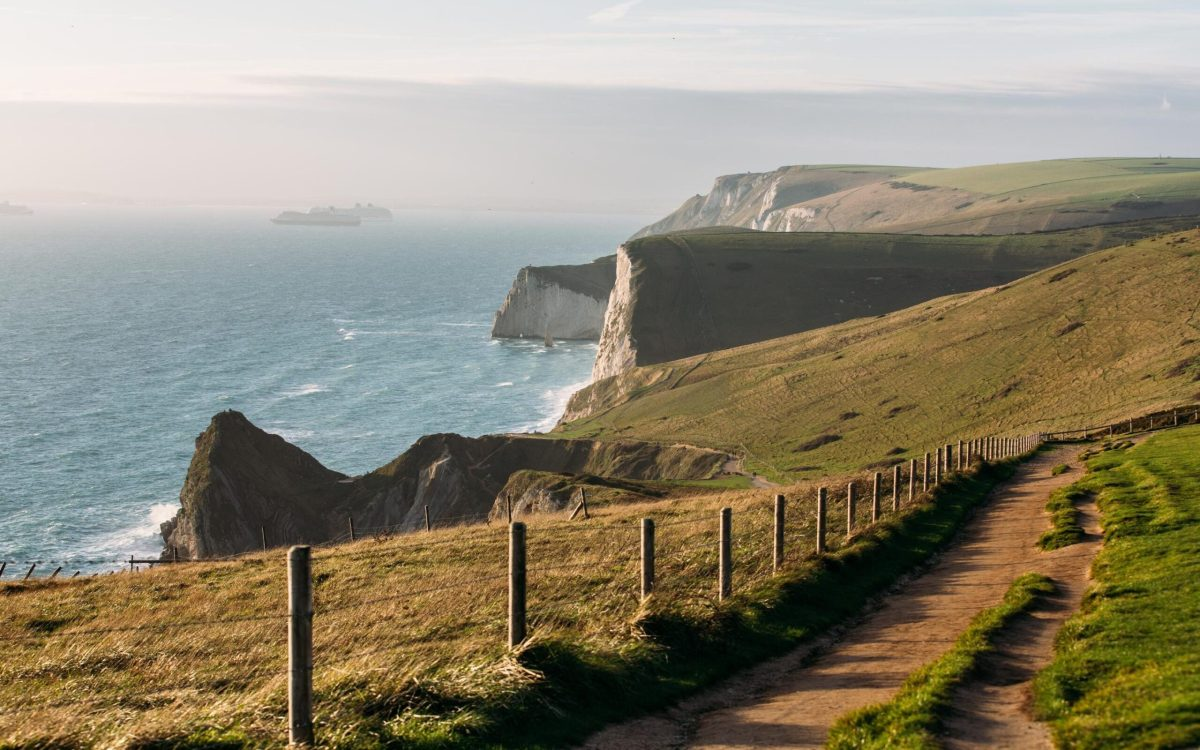 A trip to Durdle Door, in Dorset, features on a Saga itinerary