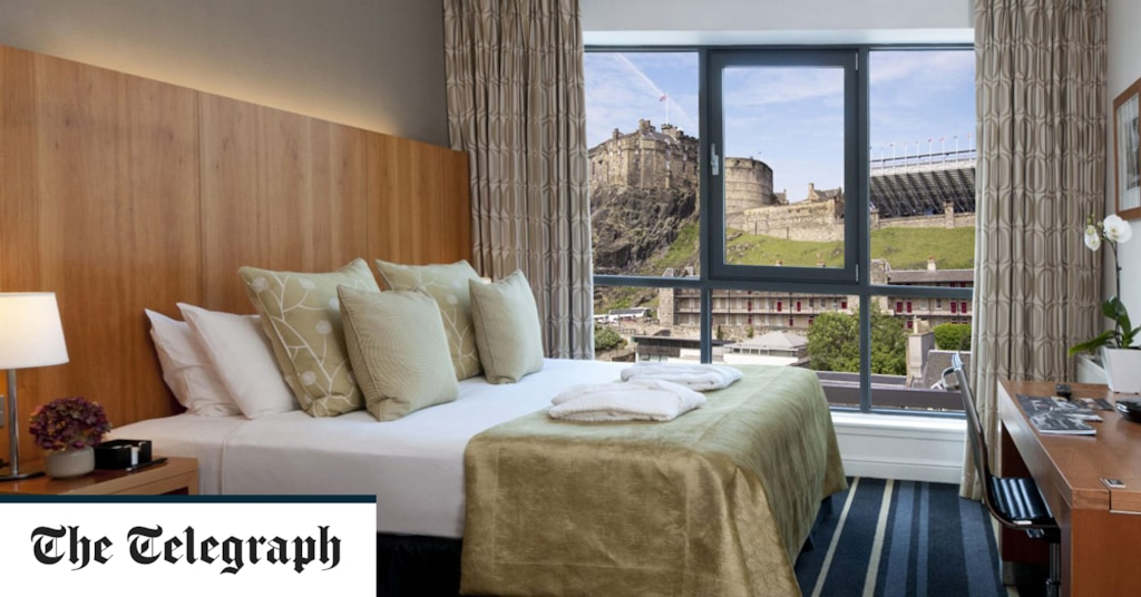The best hotels in Edinburgh Old Town, from smart aparthotels to atmospheric boutique boltholes