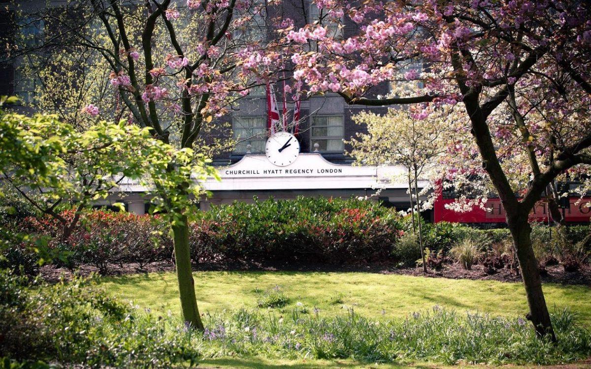 Blossom exterior view of Hyatt Regency London - The Churchill, London