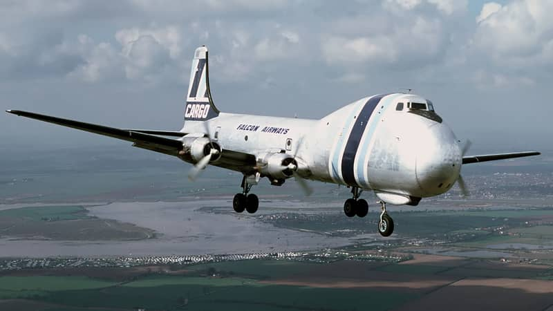 In later years, as interest in car ferries dwindled, the planes were used to ship cargo.