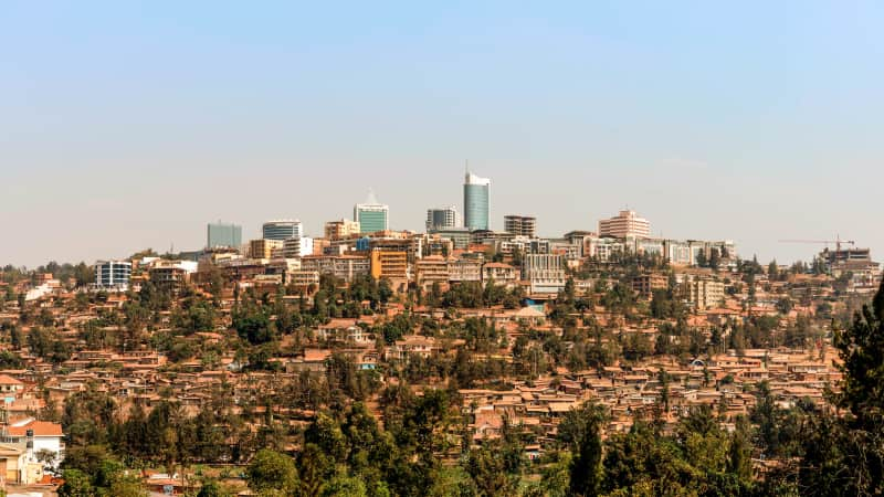 A major clean up campaign has turned Kigali's streets into some of the world's tidiest.