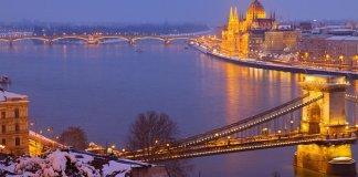 Christmas Market River Cruise, Budapest, Hungary