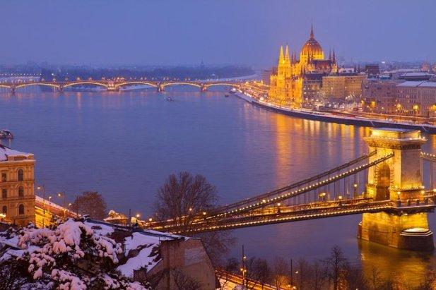 TravelAdvo. Christmas Market River Cruise, Budapest, Hungary best in travel december