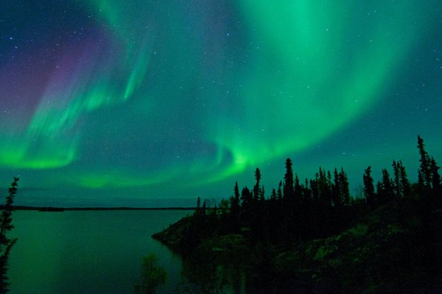 Best places to see Northern lights in Canada Yellowknife