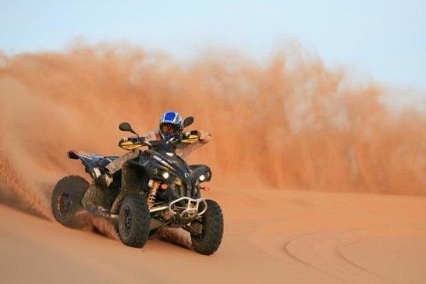 Sinai Desert, Egypt Quad biking