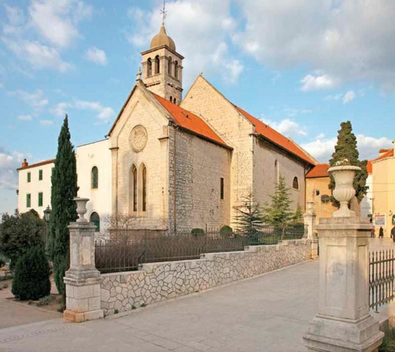 St. Francis's Church Sibenik Croatia