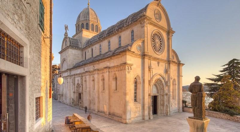 The Cathedral of St. James' Sibenik Croatia