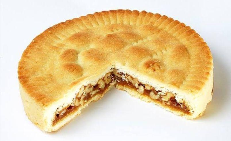 Caramelized pastry or Bundnernussotorte