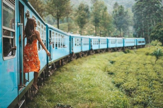 Take a Train Ride to Hill country Sri Lanka