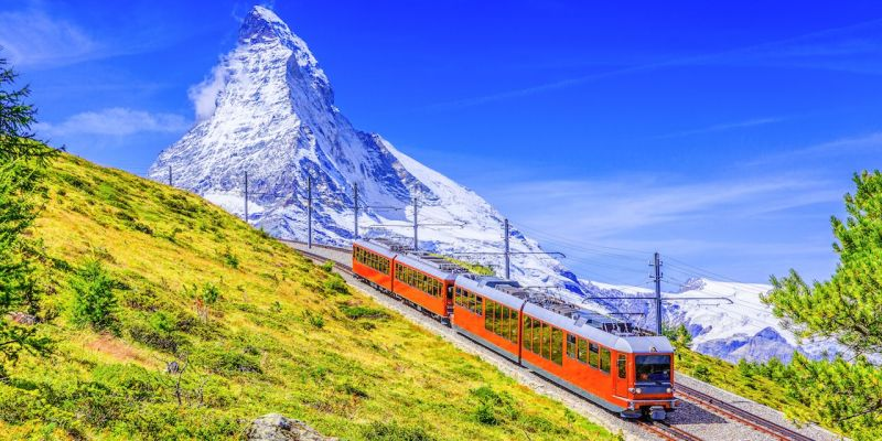 The Gornergrat Railway Best 7 Places to visit in Zermatt Switzerland