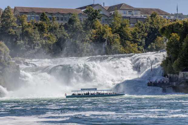 The Rhine Falls Switzerland