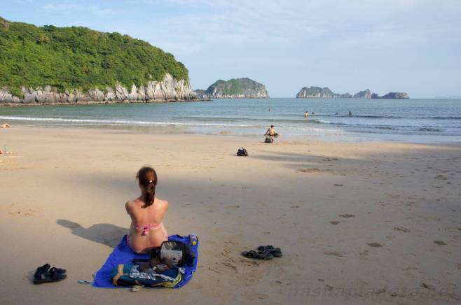 Cat Ba Island Vietnam Beach Fun
