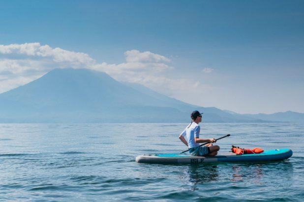 Kayaking or SUP in Lake Lake Atitlan Guatemala