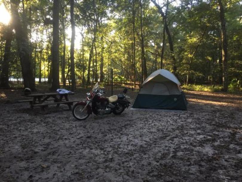 Manatee Springs State Park Florida camping