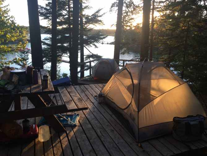 Mount Desert Island Campground
