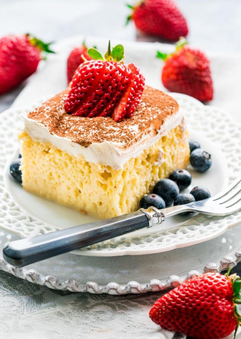 Trez Leches cake