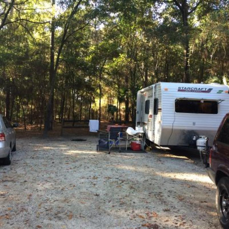 Wekiwa Springs State Park, Apopka camping