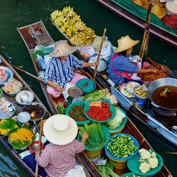 When to go Floating Markets in Thailand