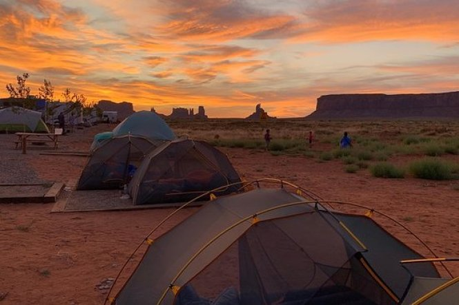 Campgrounds in Horse Shoe Bend