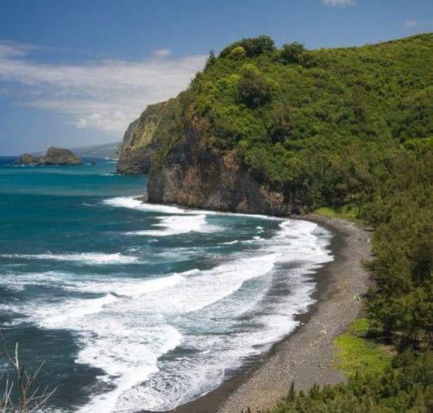 Big Island Beaches: Black Sand Beaches On The Big Island / Hawaii