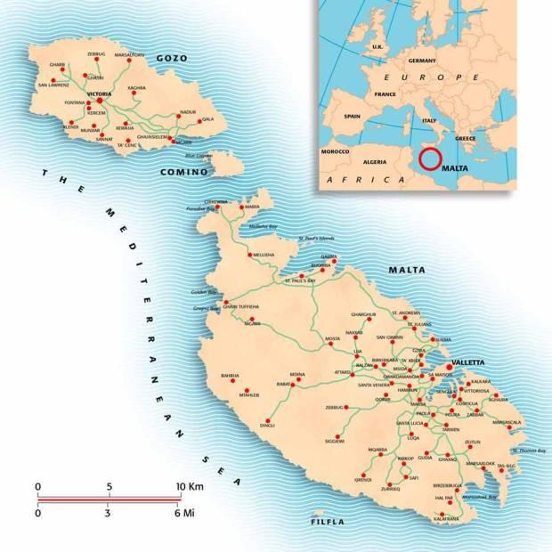 Where is Malta located