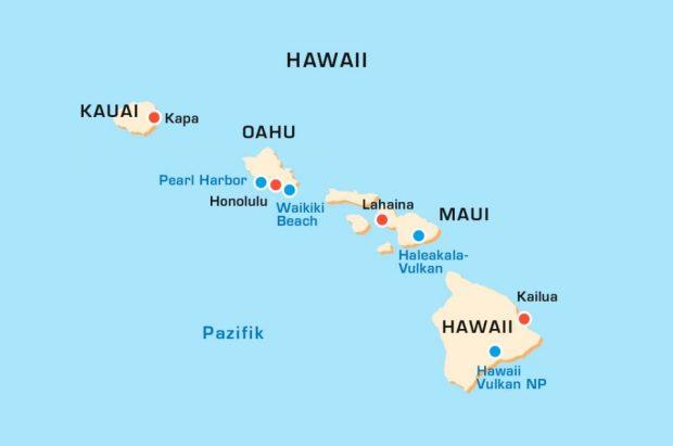 Which Island is Honolulu on