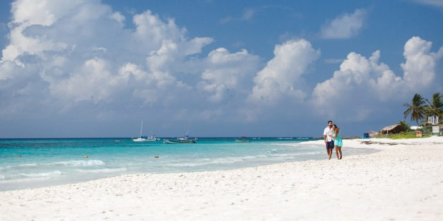 Xpu Ha Beach, riviera Maya best beaches in Mexico