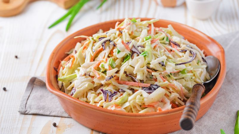 Coleslaw Mexican fast food