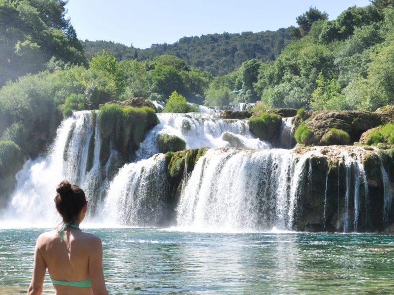 Krka National Park in Sibenik Croatia