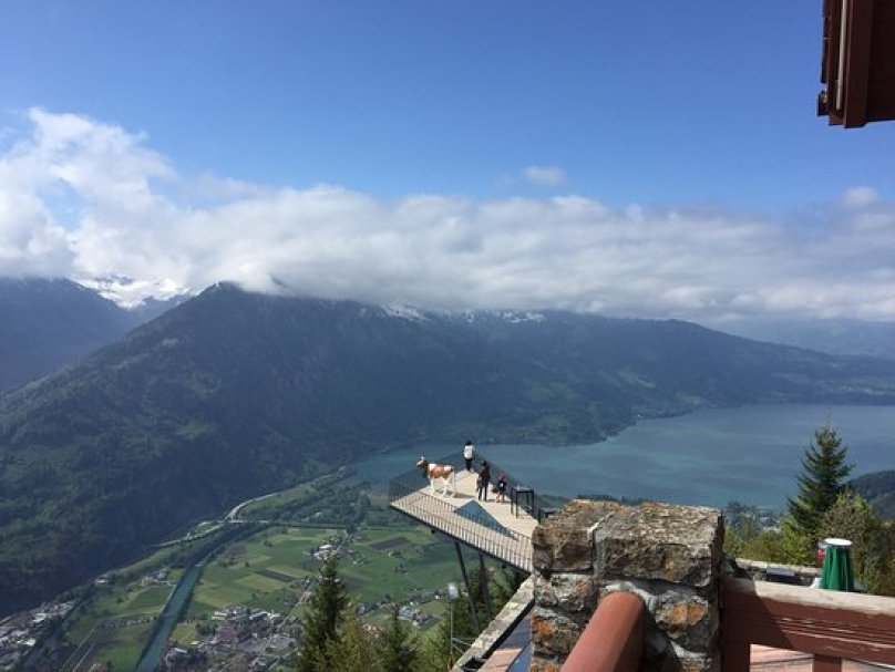Harder Kulm Hike in Interlaken in Switzerland