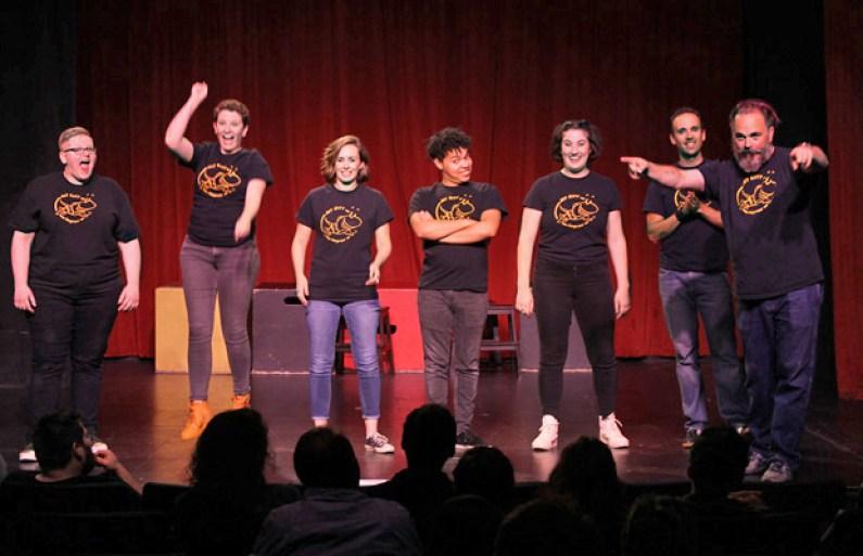 Laugh at the Jet City Improv Show