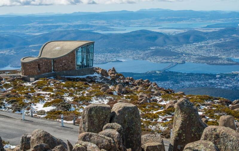 Mount Wellington in Tasmania Australia