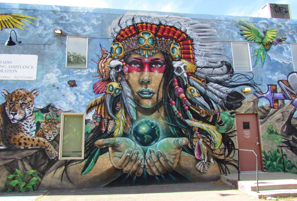 Street Art in RiNo Denver