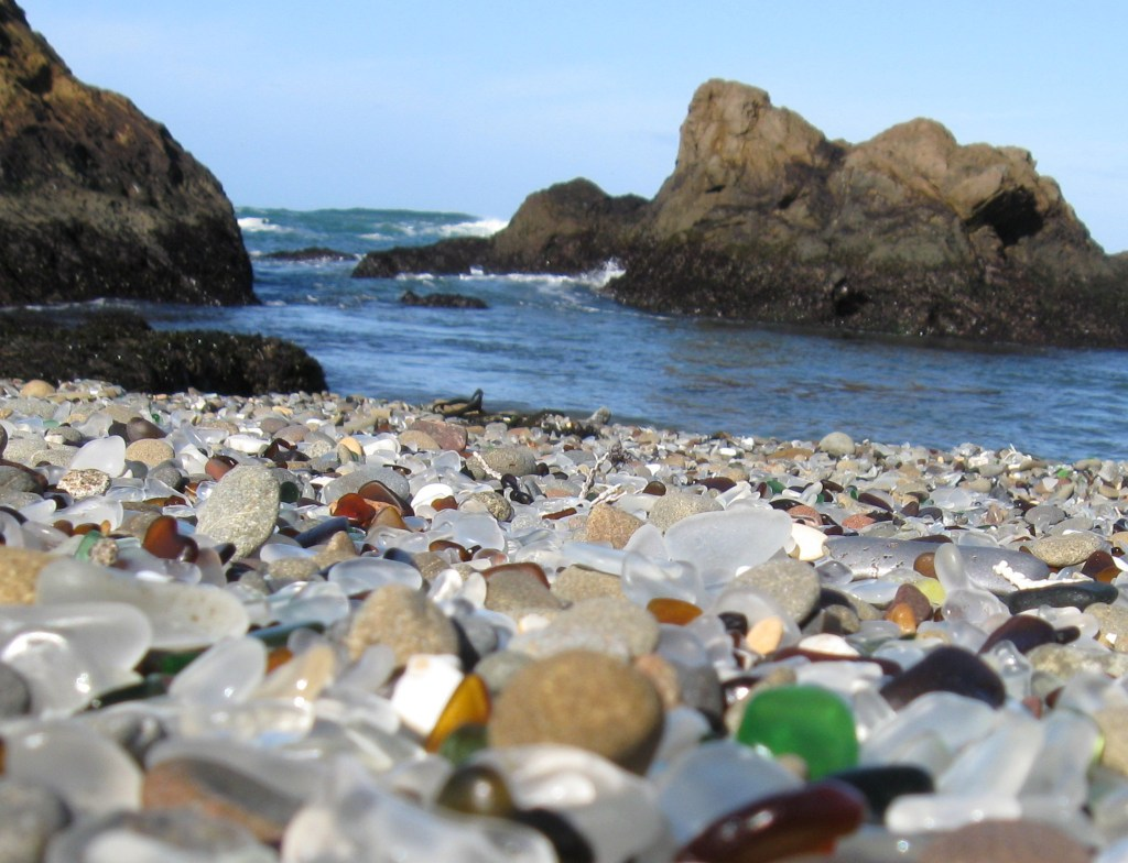 Visit Sea Glass Beach California