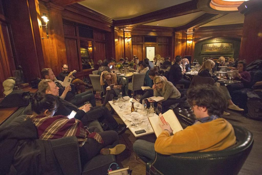 Visit the Silent Reading Party in Seattle