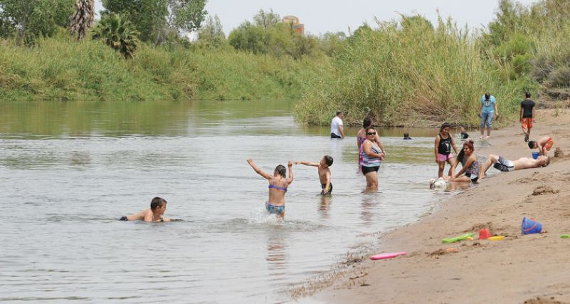 Centennial Beach in Yuma, Arizona
