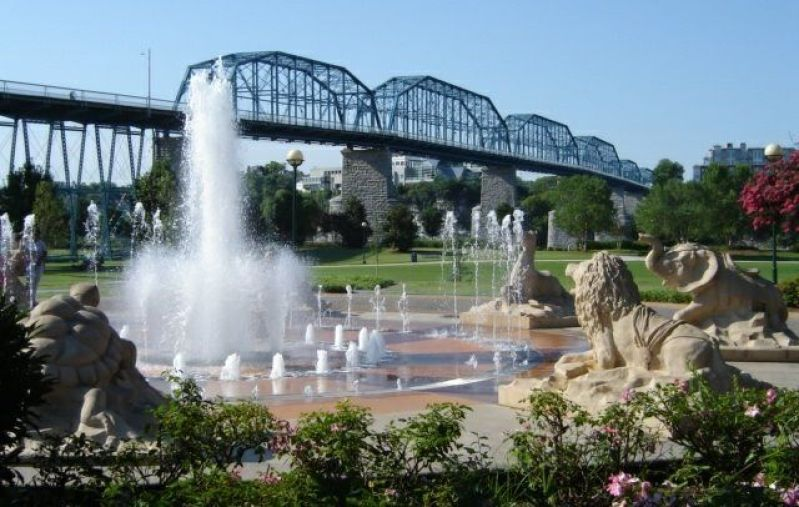 Best Things to do in Chattanooga Visit Coolidge Park