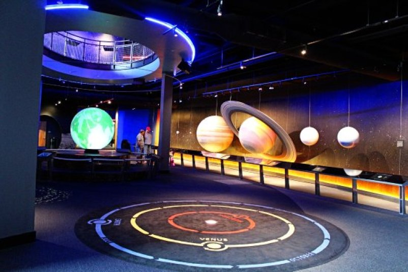 Visit the Adventure Science Center in Nashville