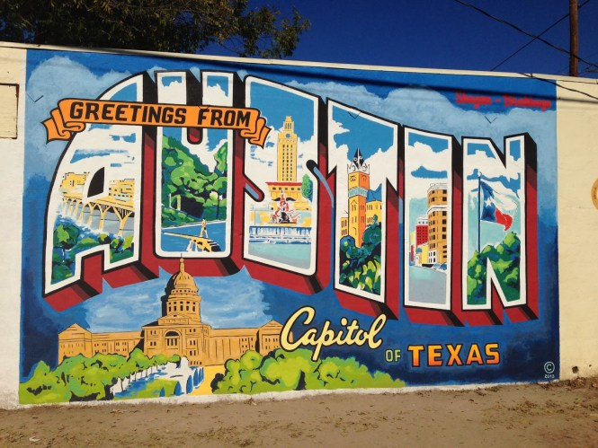 Visit Greetings from the Austin Murals