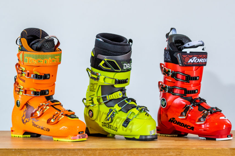 Know the flex of your ski boot