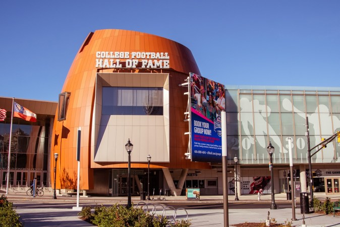 College Football Hall of Fame in Georgia