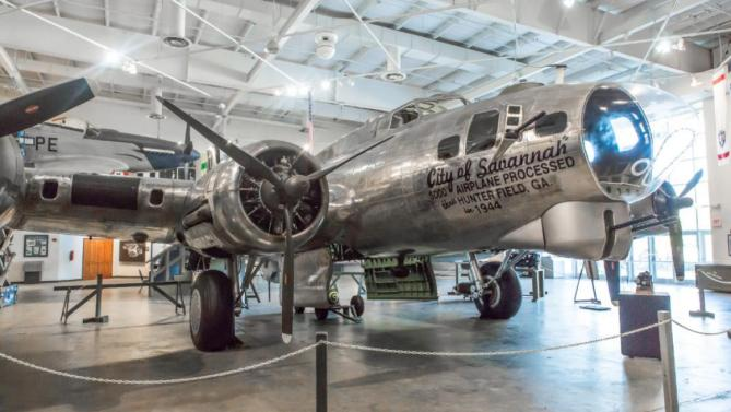 National Museum of the Mighty Eighth Air Force Georgia