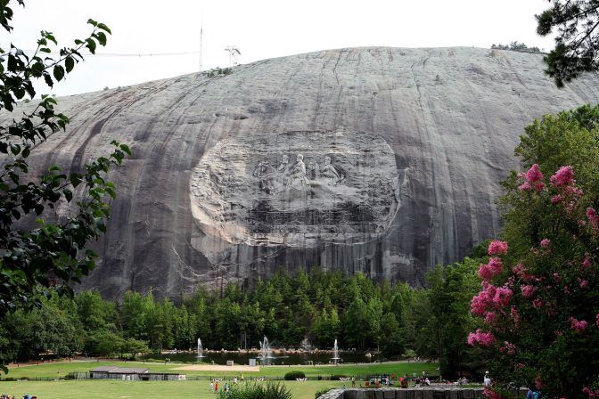 Stone Mountain in Georgia